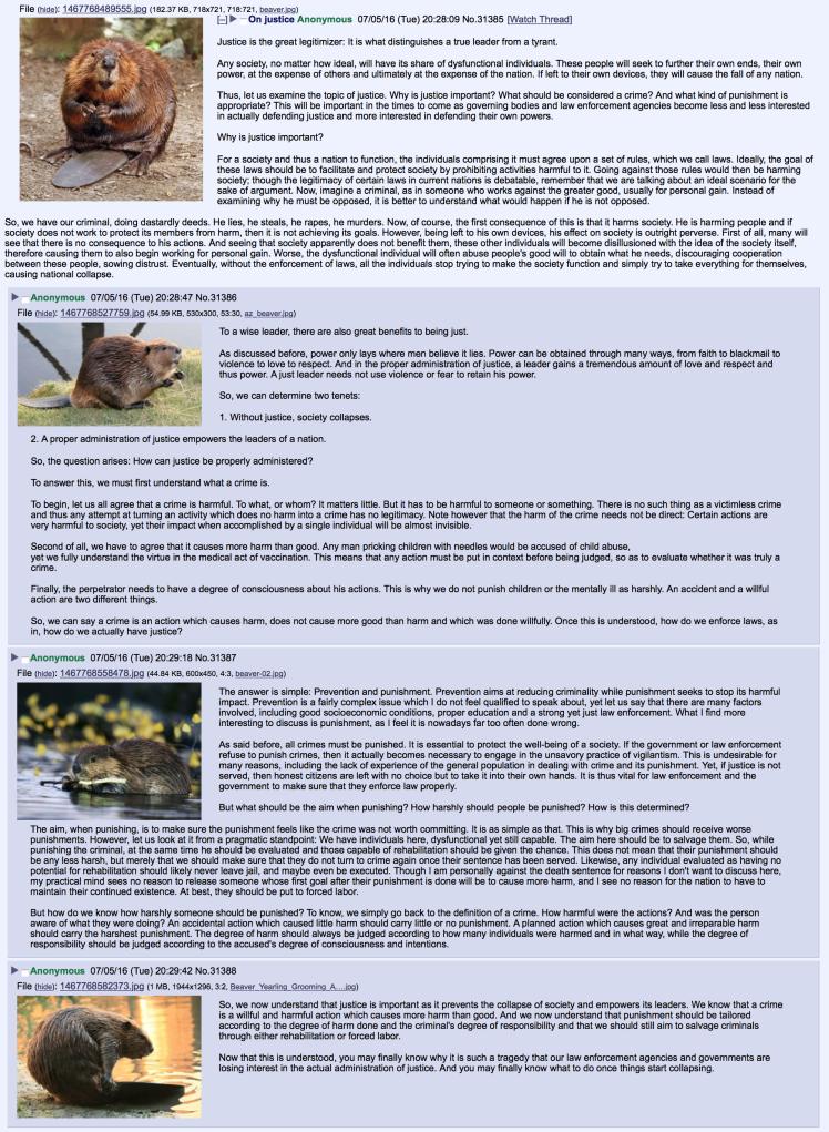 beaver justice