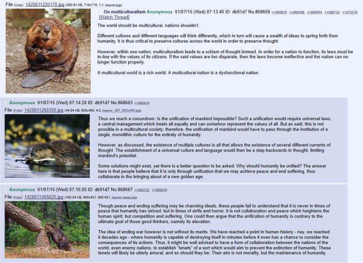 beaver multiculturalism