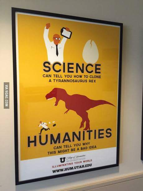 science vs humanities