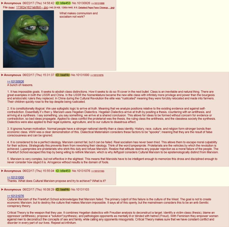 marxism fails