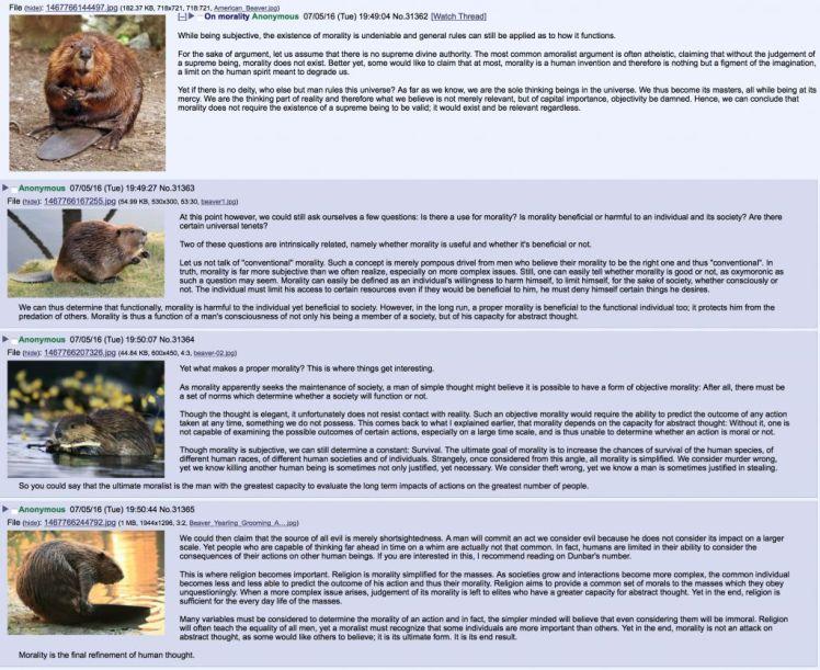 beaver morality