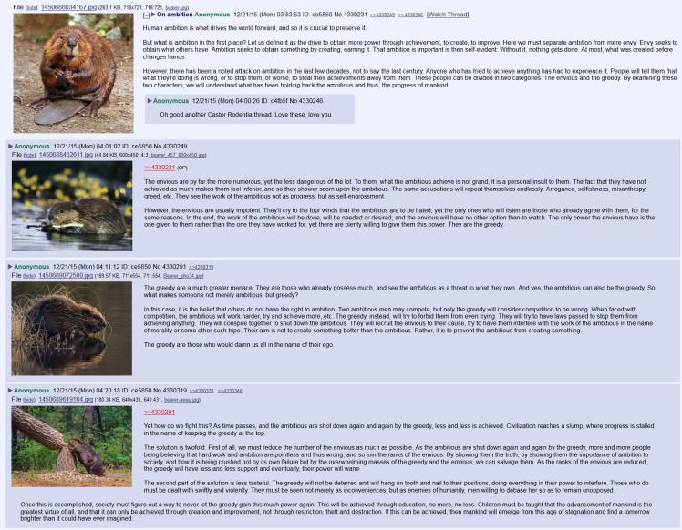 beaver ambition