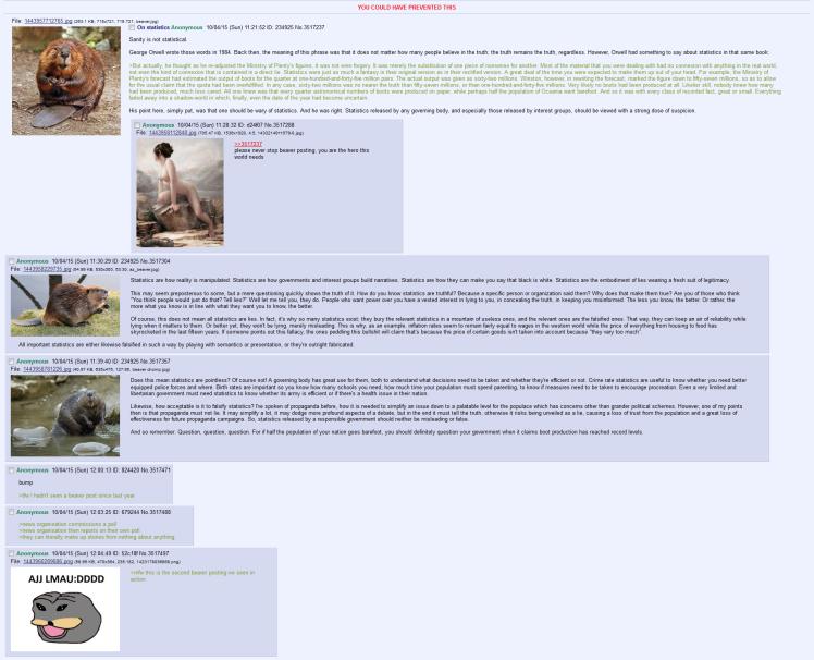 beaver statistics
