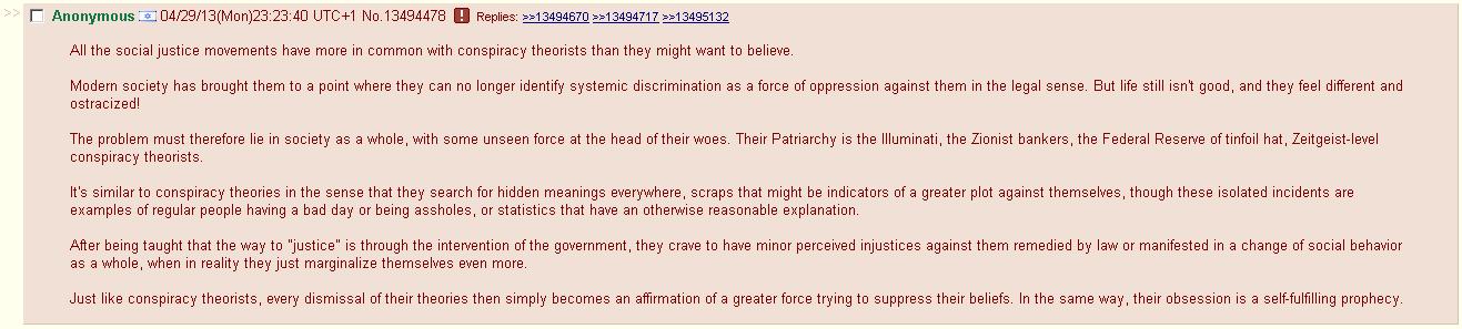 sjw vs conspiracy theorists