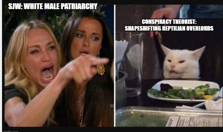 SJW vs conspiracy