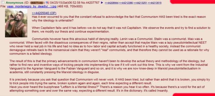 communism fails