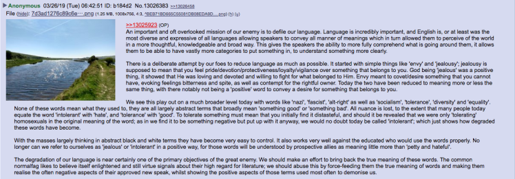 language degredation